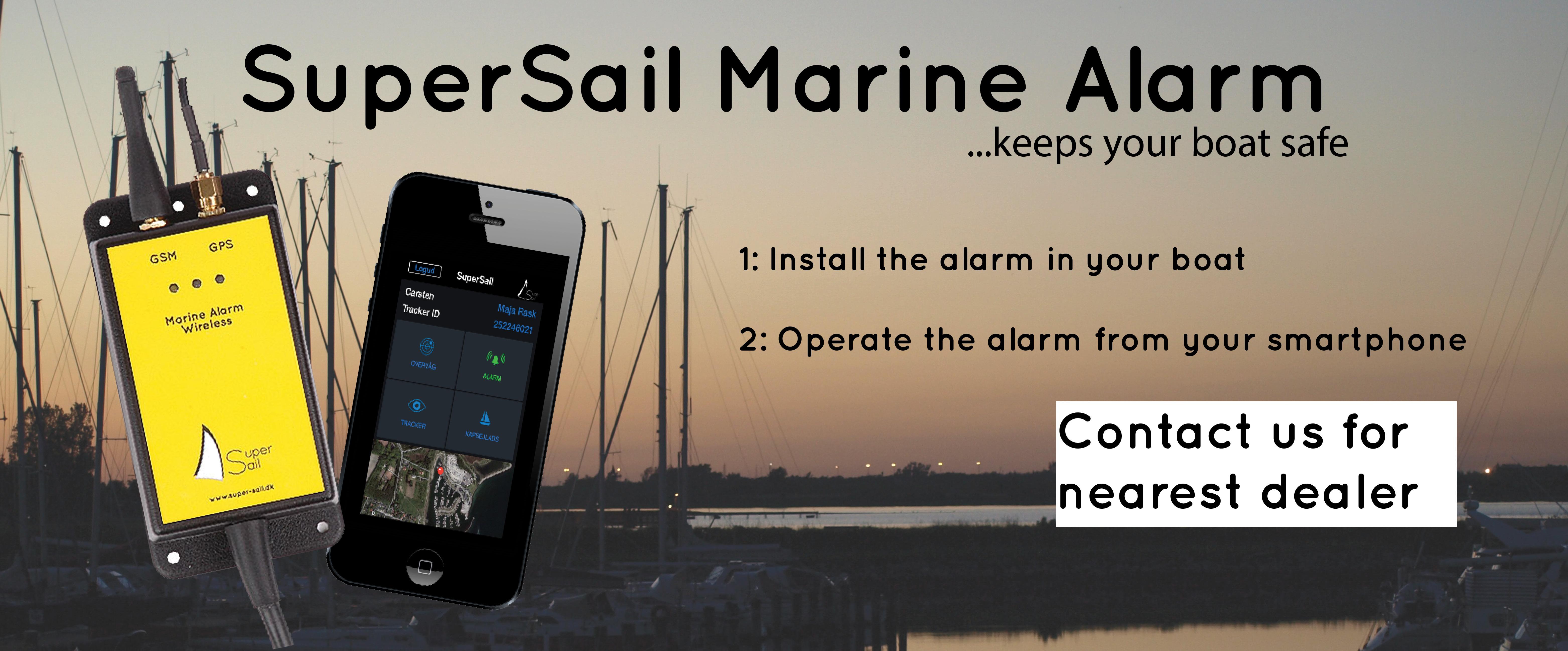 SuperSail Marine Alarm